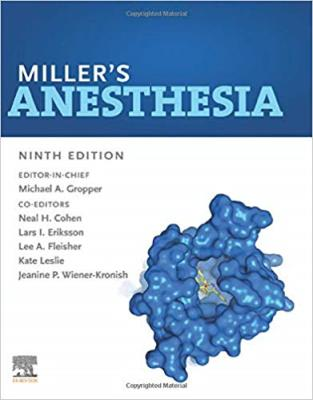 Miller's Anesthesia 2020-4Vol