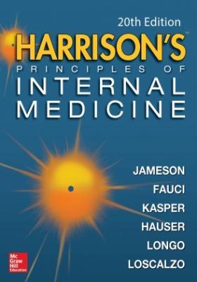 گلاسه اروپایی Harrison's Principles Of Internal Medicine 2018